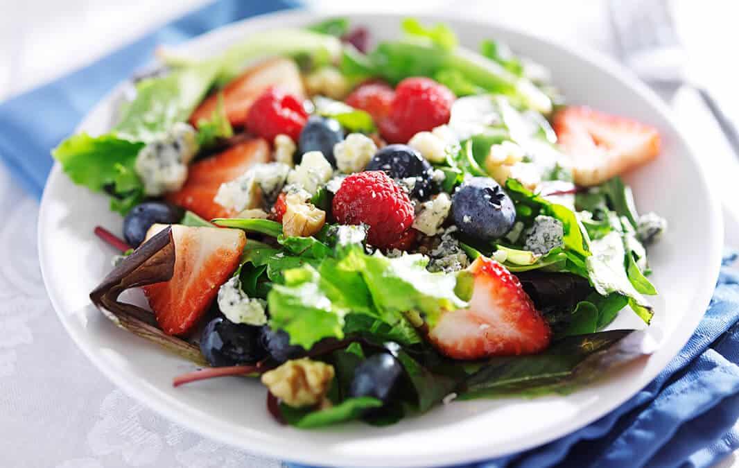 Plate of Salad food