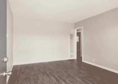 Spacious open floor layout